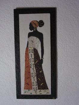 Tableau sur commande en mosaïque, par Pascale Villegas mosaïste